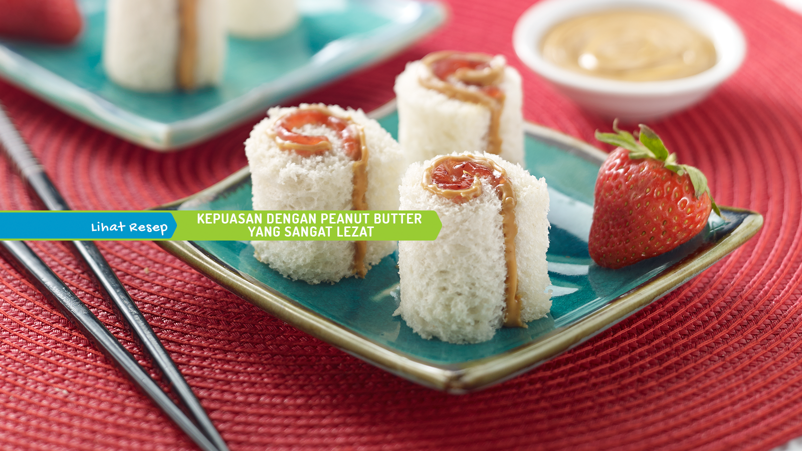 Peanut Butter Sushi
