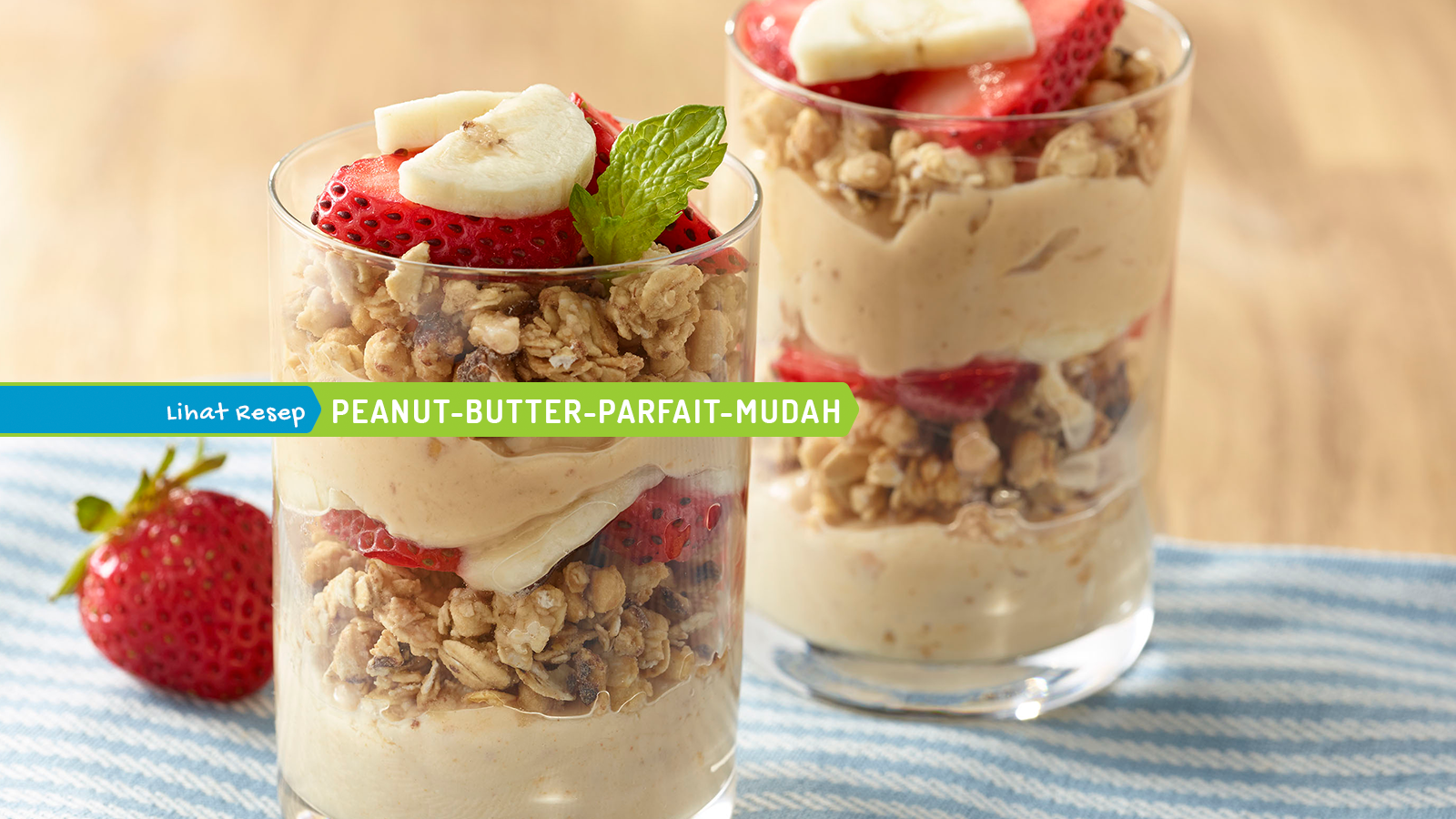 Peanut Butter Parfaits