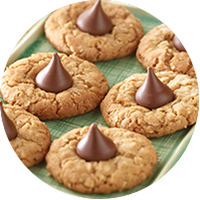 Peanut Butter Chocolate Drop Cookies / Kue Peanut Butter Cokelat