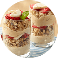 Peanut Butter Parfaits / Yogurt Peanut Butter